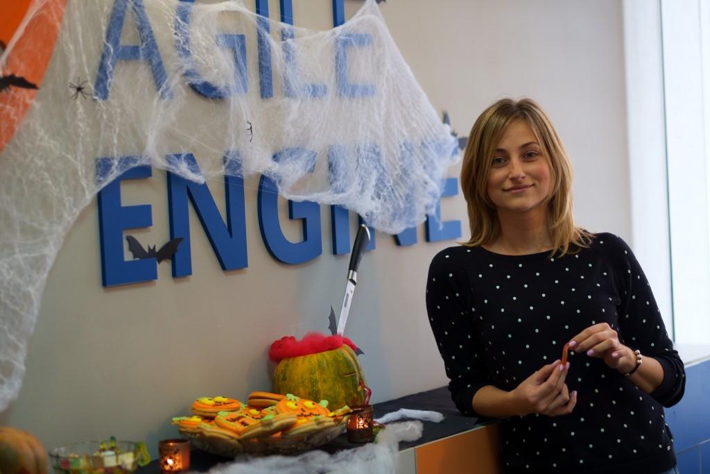 Halloween party at AgileEngine