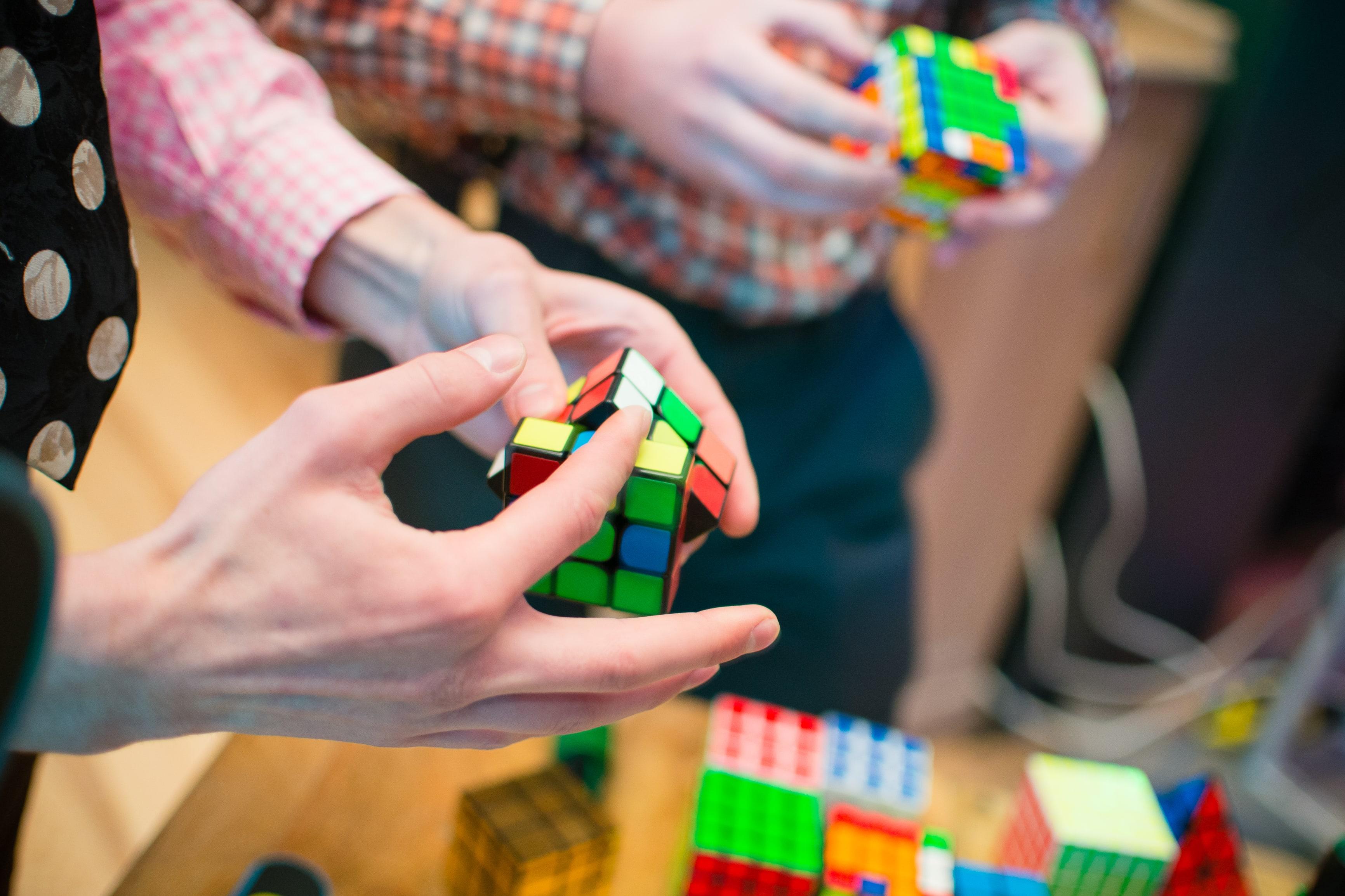Rubik's cubes at AgileEngine
