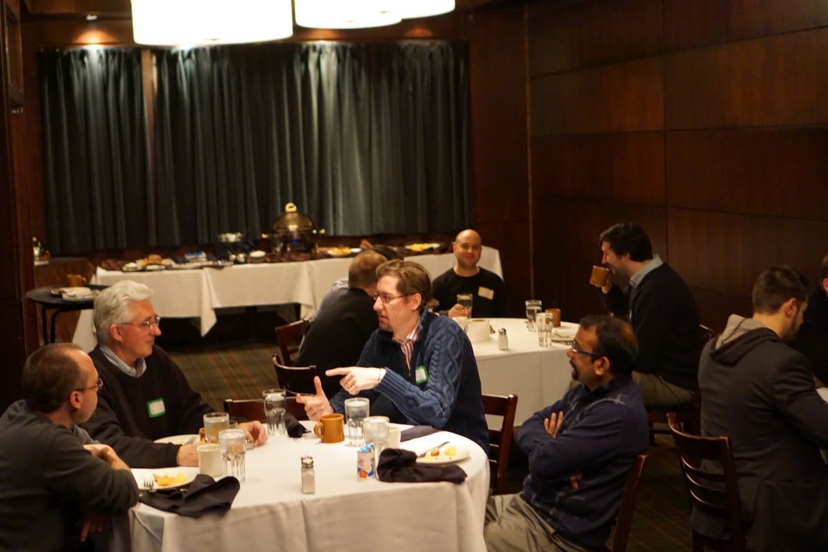 CTOs and VPs of Engineering from DC-based tech companies at the first meet-up of the DC CTO Club