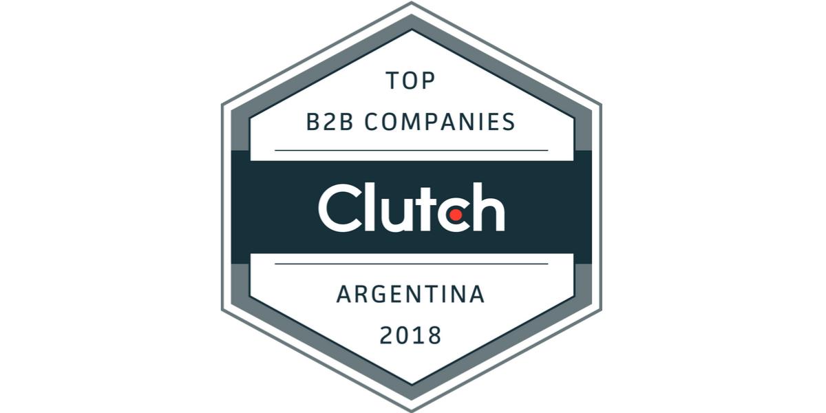 Badge: AgileEngine is top-1 in Argentina on Clutch