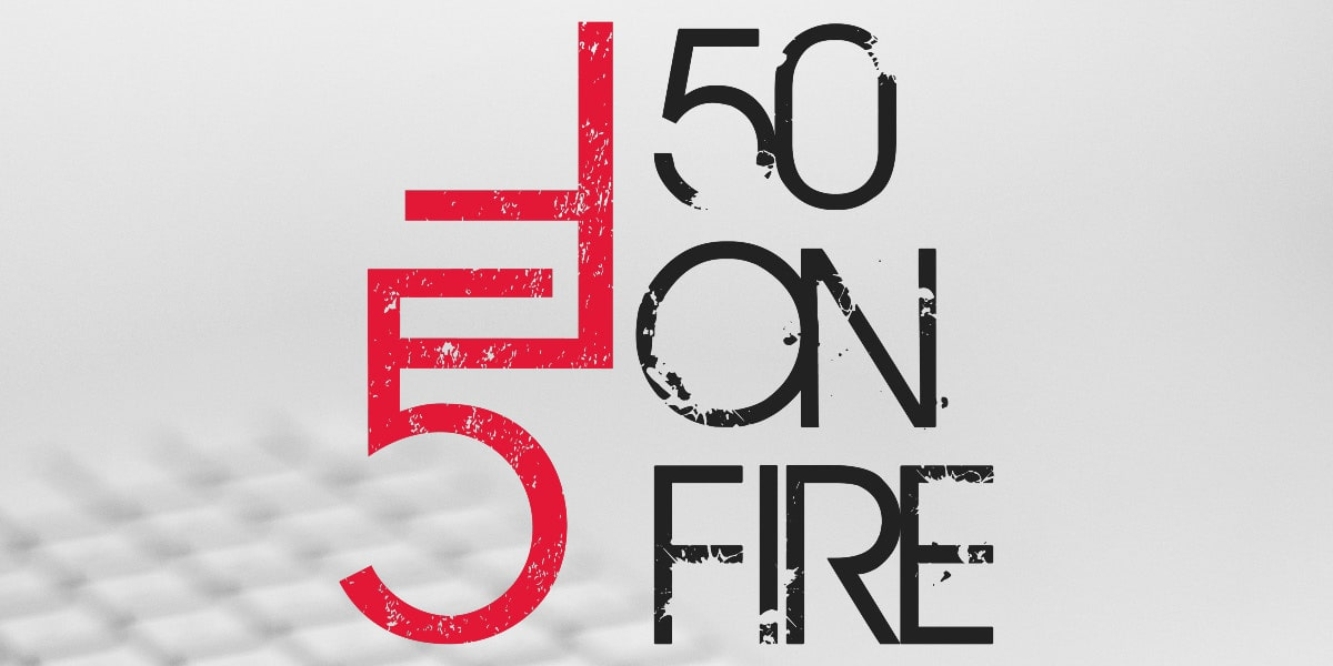 DC Inno 50 on Fire logo