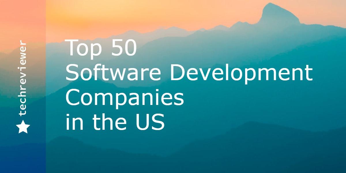 TechReviewer names top-50 software development companies
