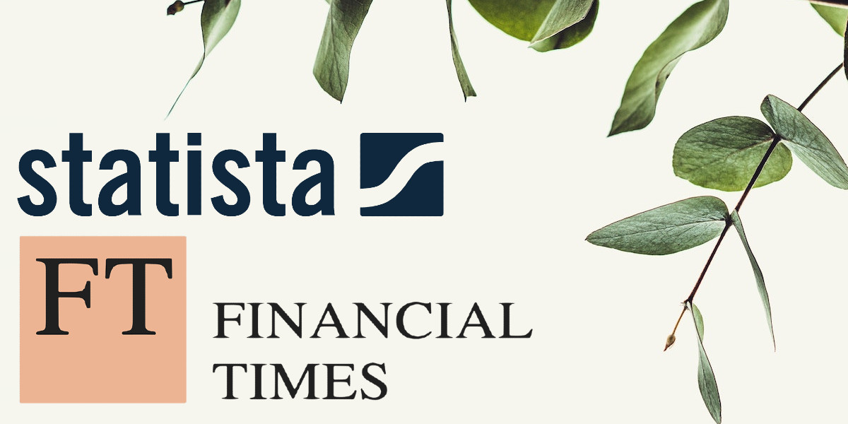FT Americas 2021: logos of the Financial TImes and Statista