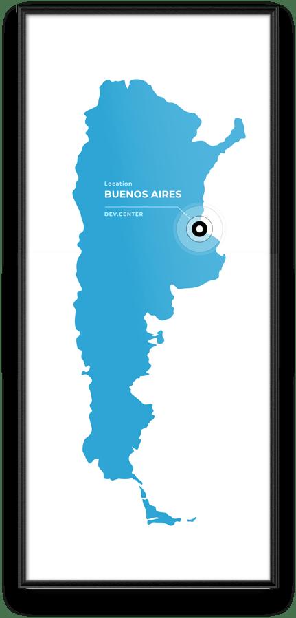 Argentina location